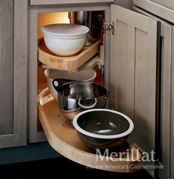 Base Blind Corner with Lazy Susan