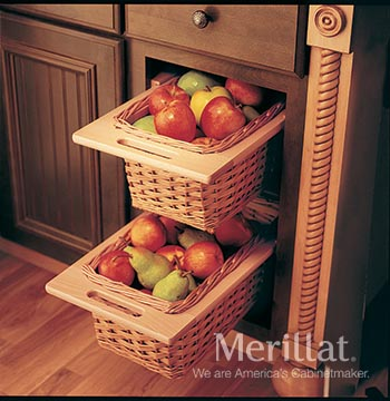 Base Open Basket Cabinet