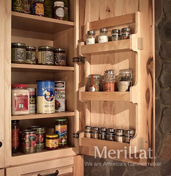 Wall Spice Door Rack