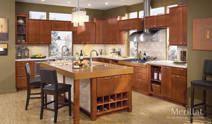merillat classic fusion in maple sable - Merillat Classic Kitchen Cabinets