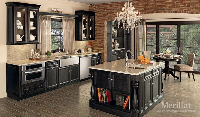 Elegant Merillat Classic® Bayville In Maple Dusk