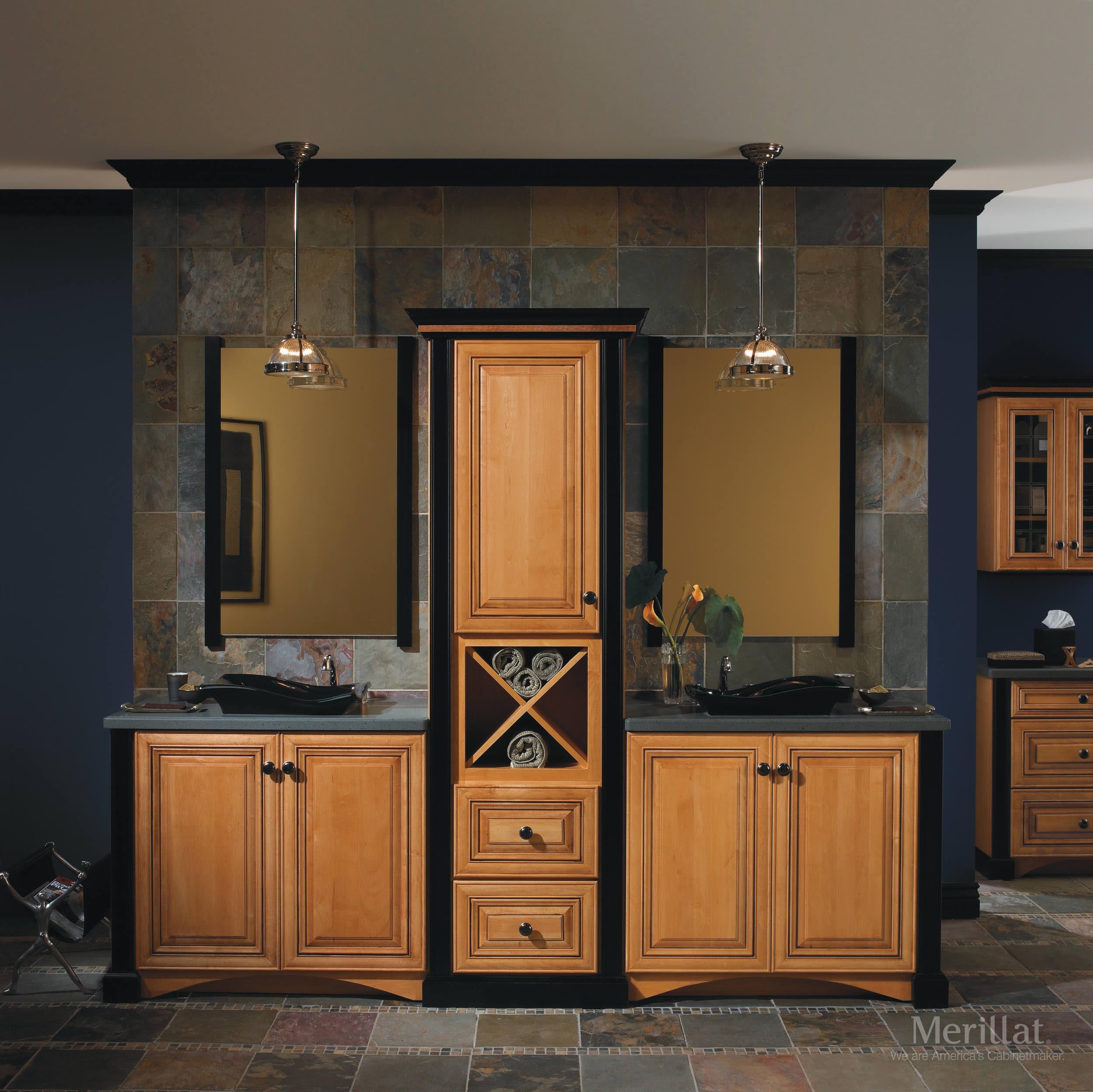 Merillat bathroom vanity - Download Room Image