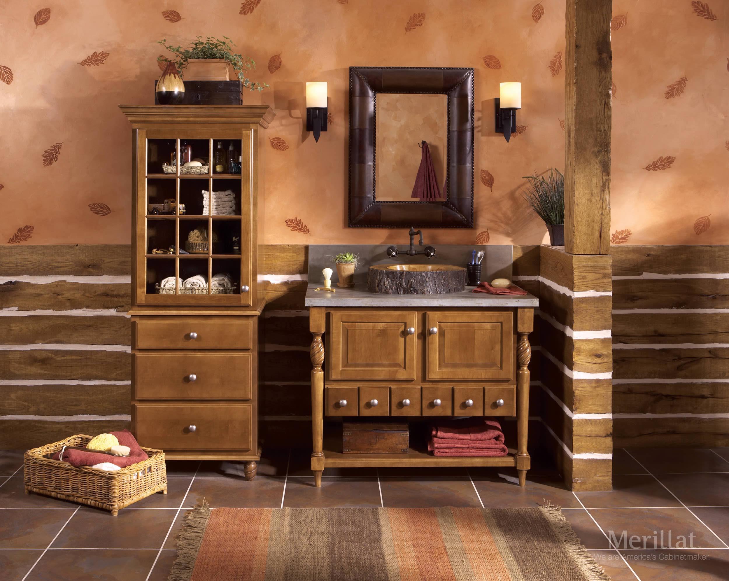 Merillat bathroom vanity - Download Room Imagemerillat Classic Sutton Cliffs In Maple Sable Merillat