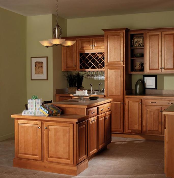 Merillat Basics Homestead Square Merillat - Homestead cabinets
