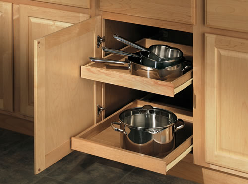 Base cabinet options cabinetry merillat for Kitchen cupboard options