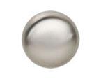 Satin Silver Knob
