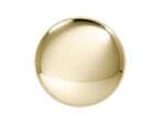 Solid Bright Brass Knob