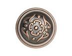 Venetian Bronze Copper French Lace Knob
