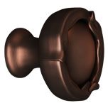 Statuary Bronze French Farm Round Knob