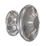 Polished Nickel Empire Knob