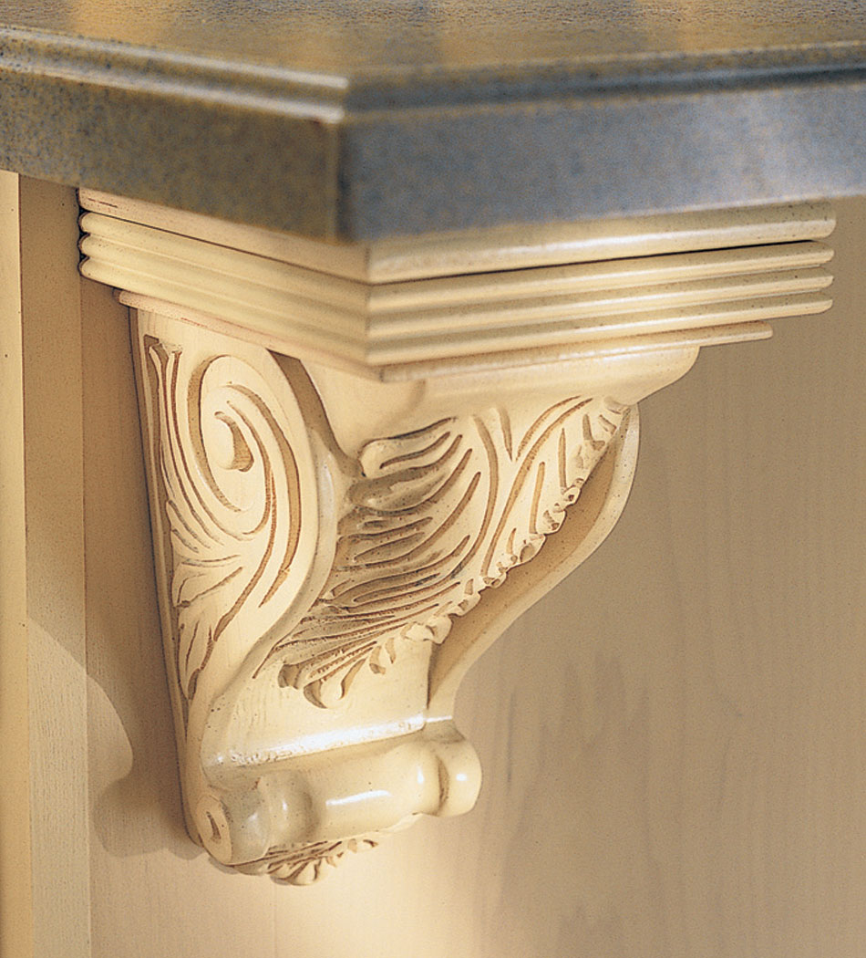 Designs Of Distinction Gaelic Light Rail Molding Insert: Kitchen Cabinets And Bathroom Cabinets