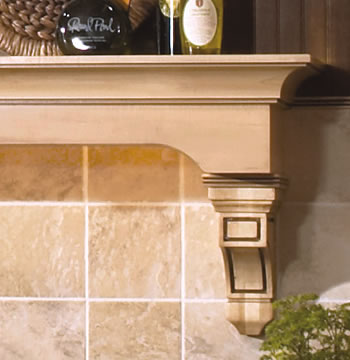 Decorative Ledge with Corbels
