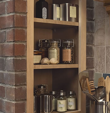 Cooking Grotto Shelves