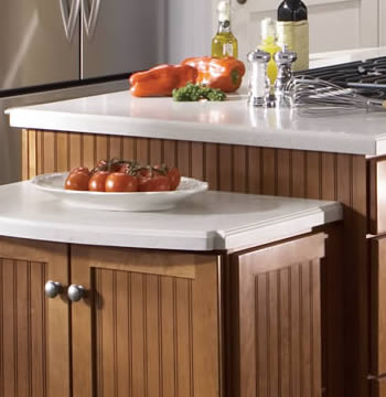 Bi-Level Island with Cook-Top