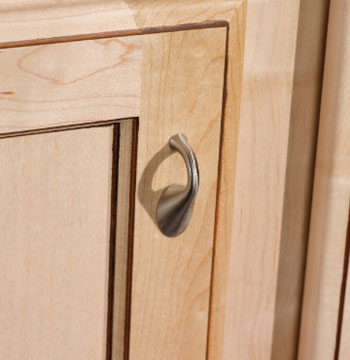 Satin Nickel Door Pulls