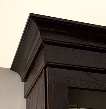 Merillat classic tolani in oak kona and merillat classic - Contemporary trim moulding ...