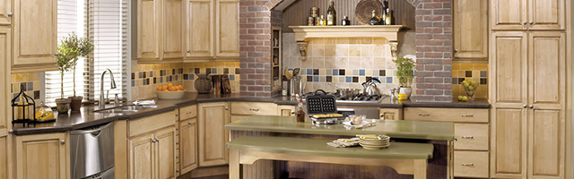 Custom Kitchen Feature