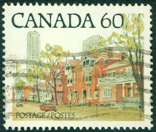 Canada postage