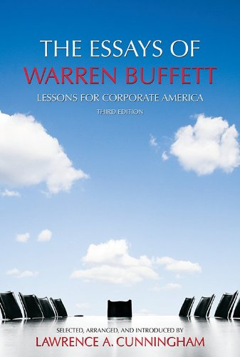 the essays of warren buffett book review