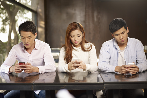Korean smartphone users