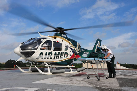 Air Med Helicopter