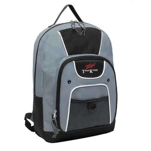 Trailmaker 16 inch Gray Multi Function Elementary School Bookbag