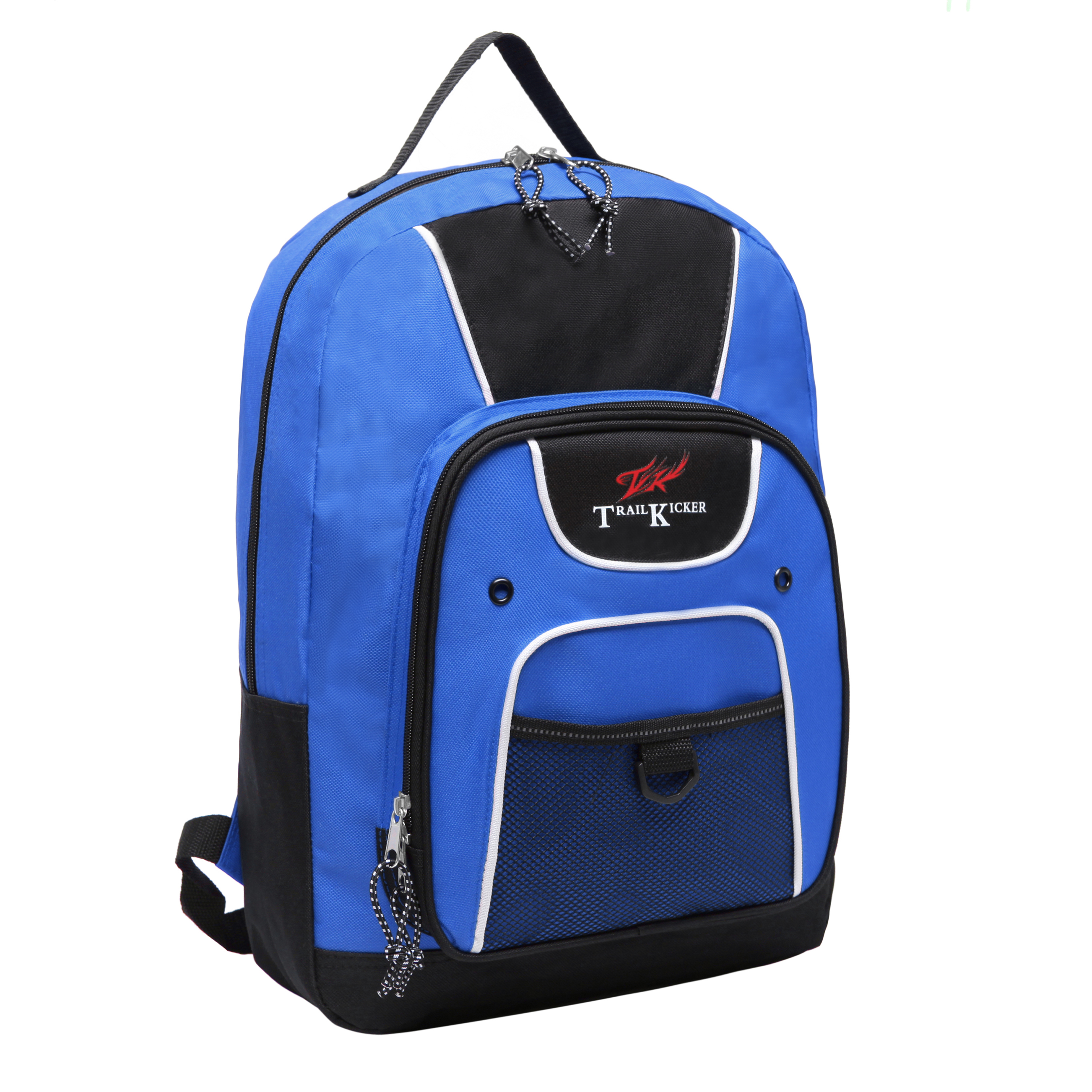 Trailmaker 16 inch Blue Multi Function Elementary School Bookbag