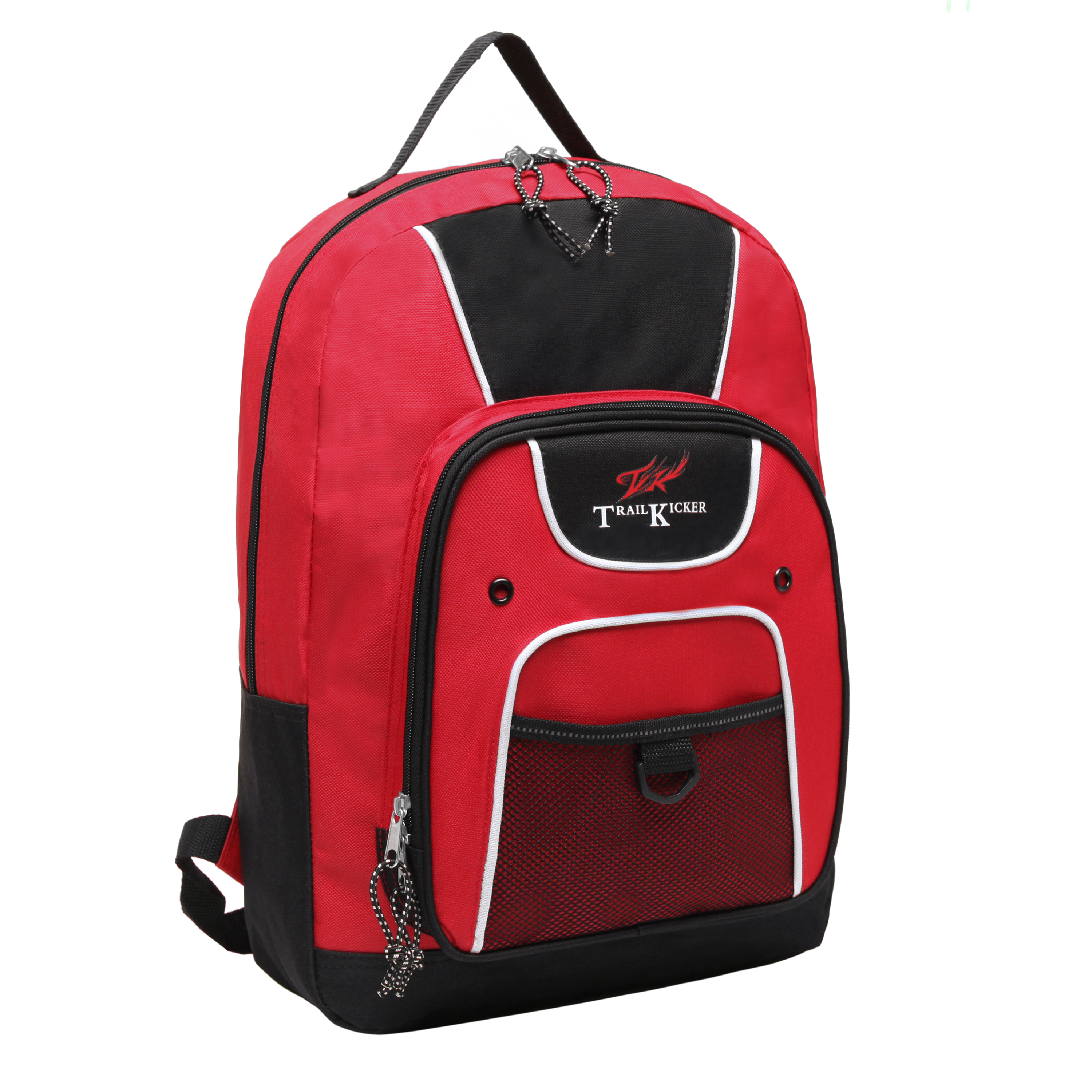 Trailmaker 16 inch Red Multi Function Elementary School Bookbag