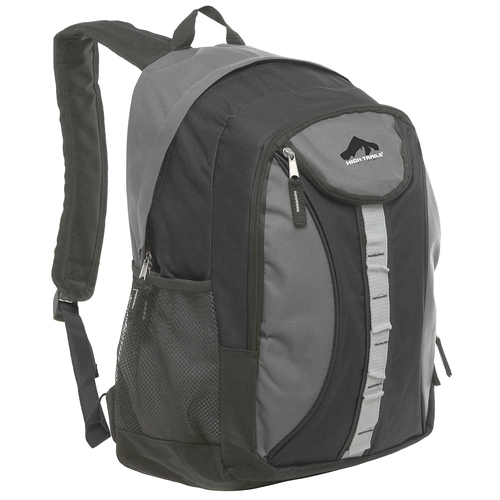 18 inch Oversize Gray High School Student Backpack