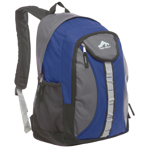 18 inch Oversize Blue High School Student Backpack