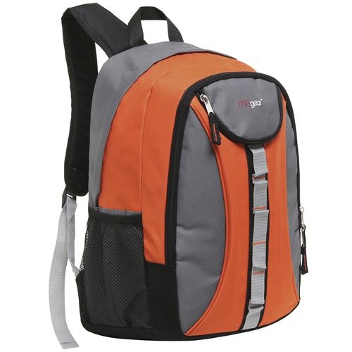 MGgear 18 inch Designer Daisy Chain Style Wholesale Book Bags, Orange