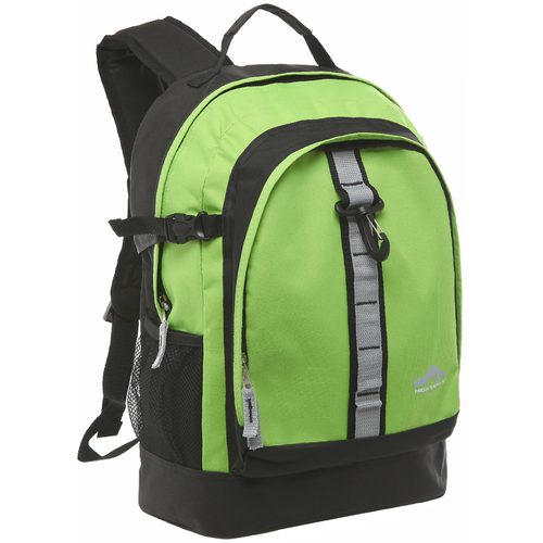 Oversized Daisy Chain High School Backpack - Green