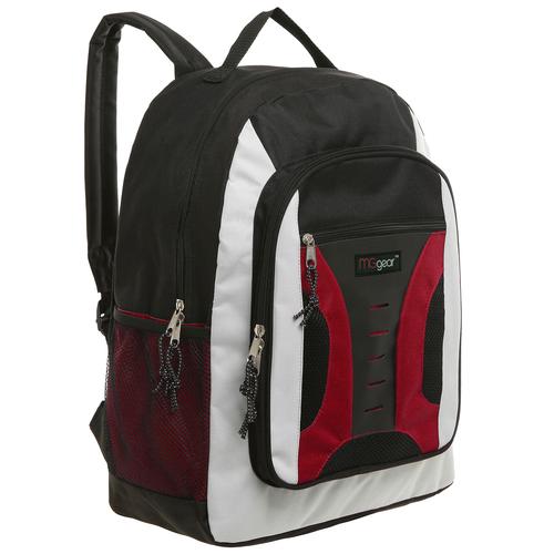 Trailmaker Red Multi Pocket Wholesale School Book Bag