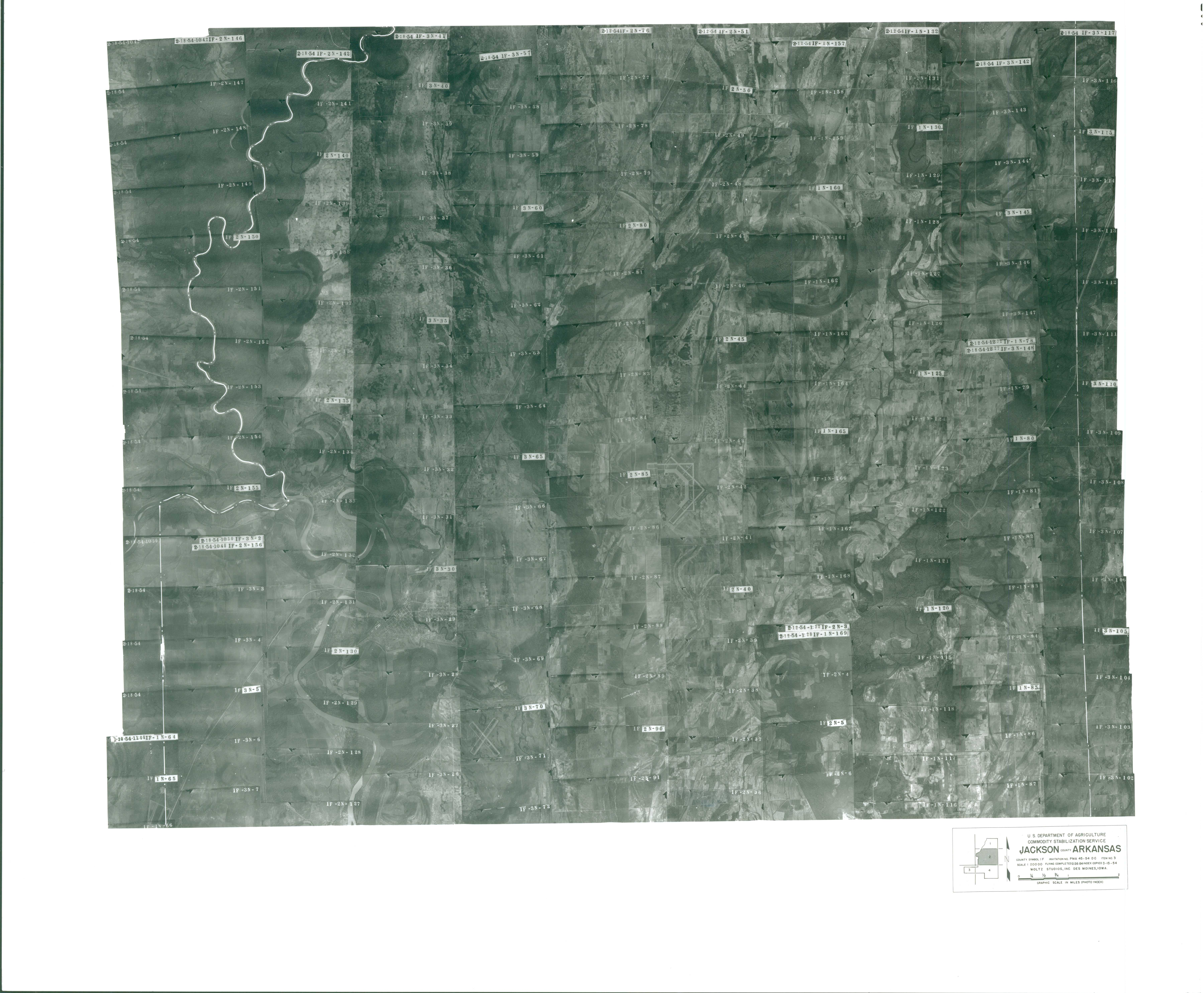 Index to Aerial Photography of Jackson County, Arkansas 2