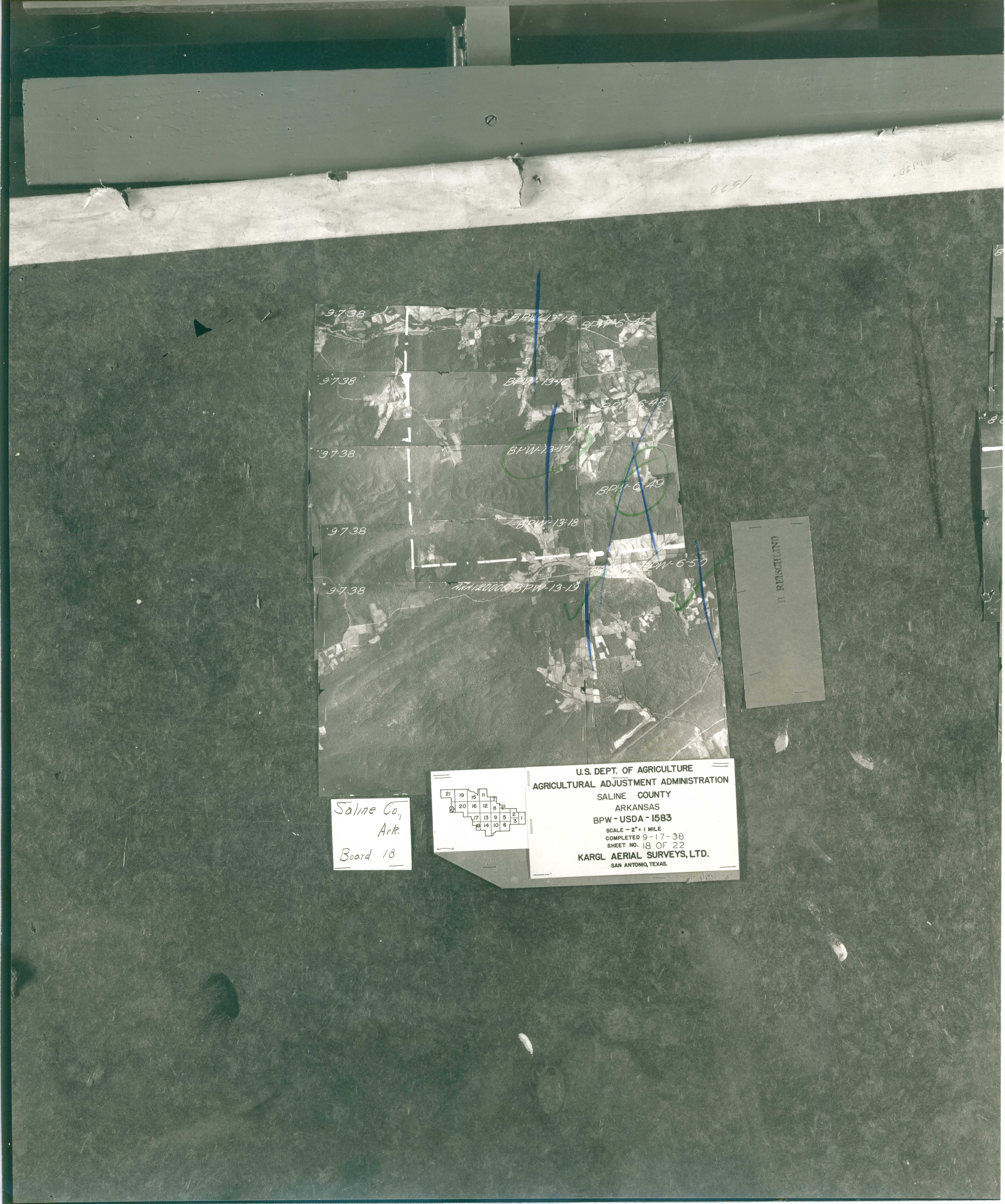 Index to Aerial Photography of Saline County, Arkansas 18