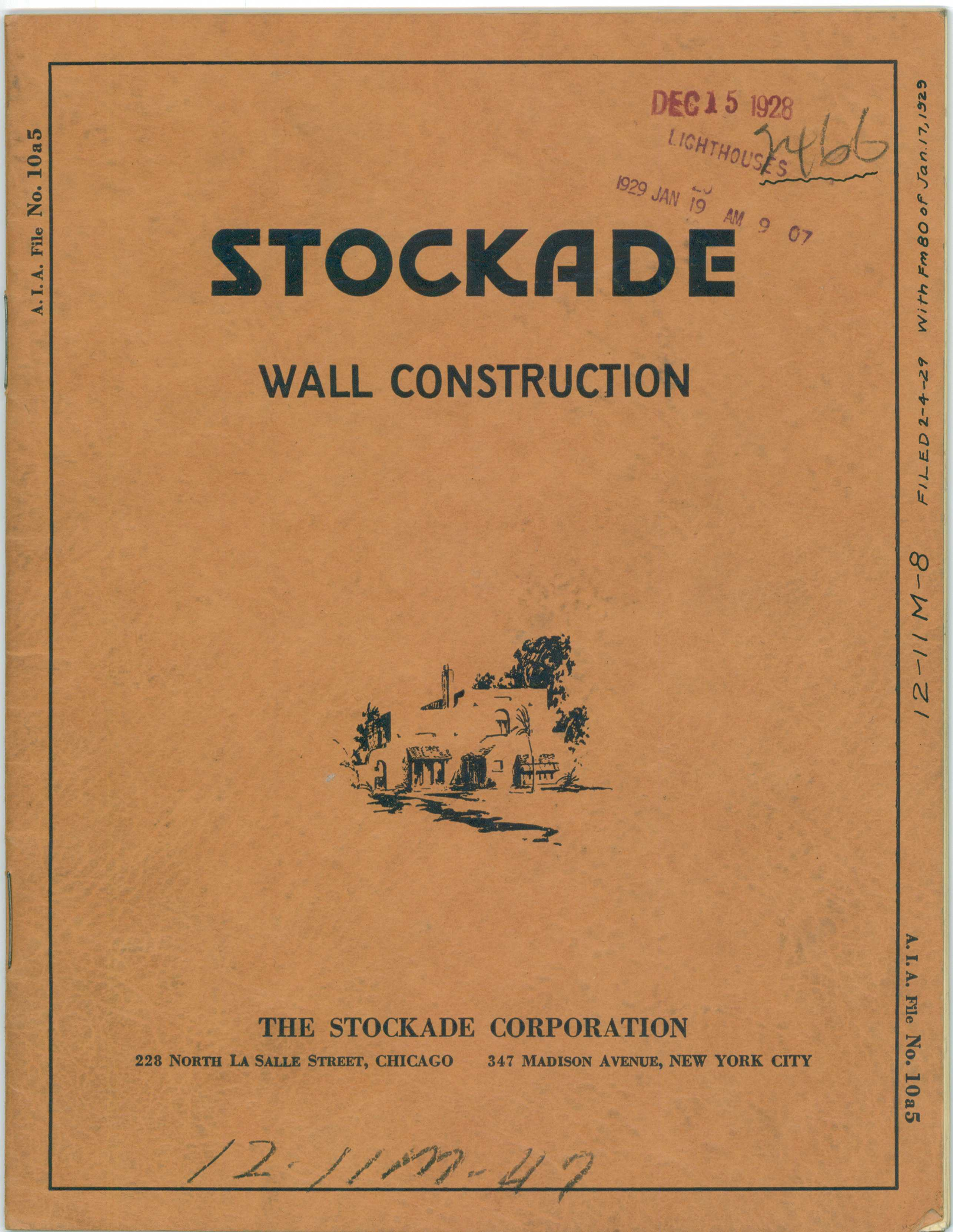 Stockade Wall (32 Pages With Pictures)