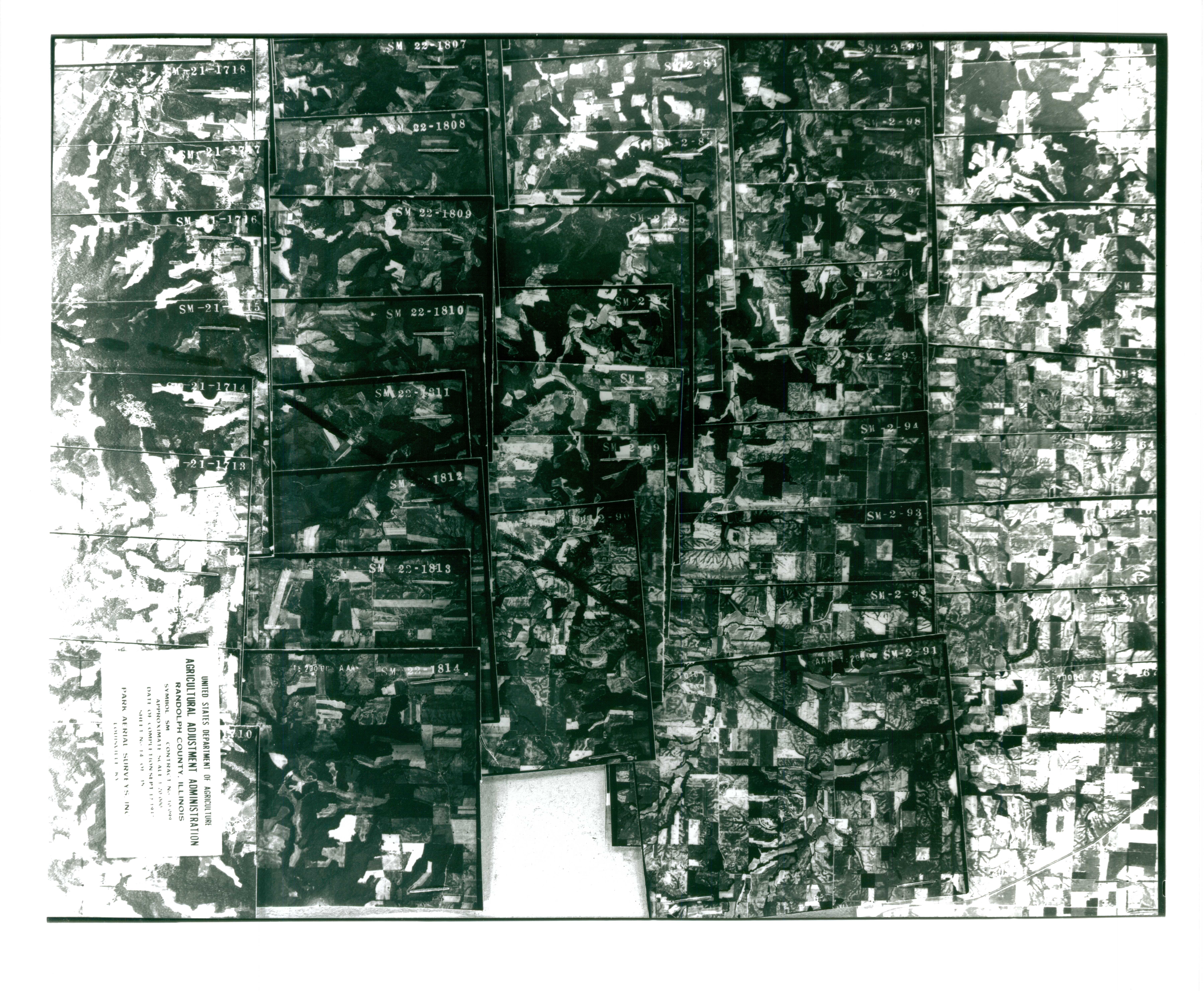 Index to Aerial Photography of Randolph County, Illinois 14