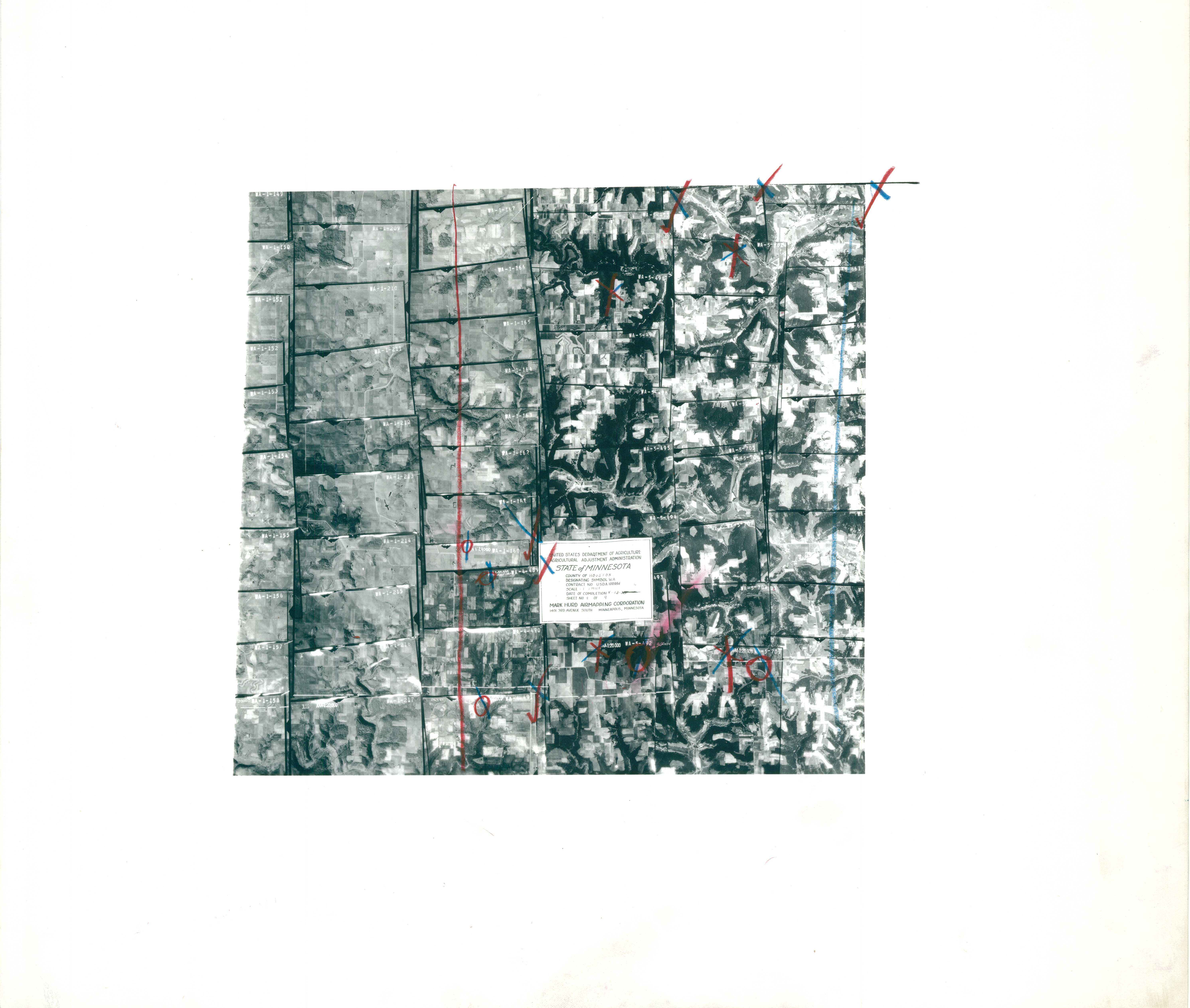 Index to Aerial Photography of Houston County, Minnesota 4