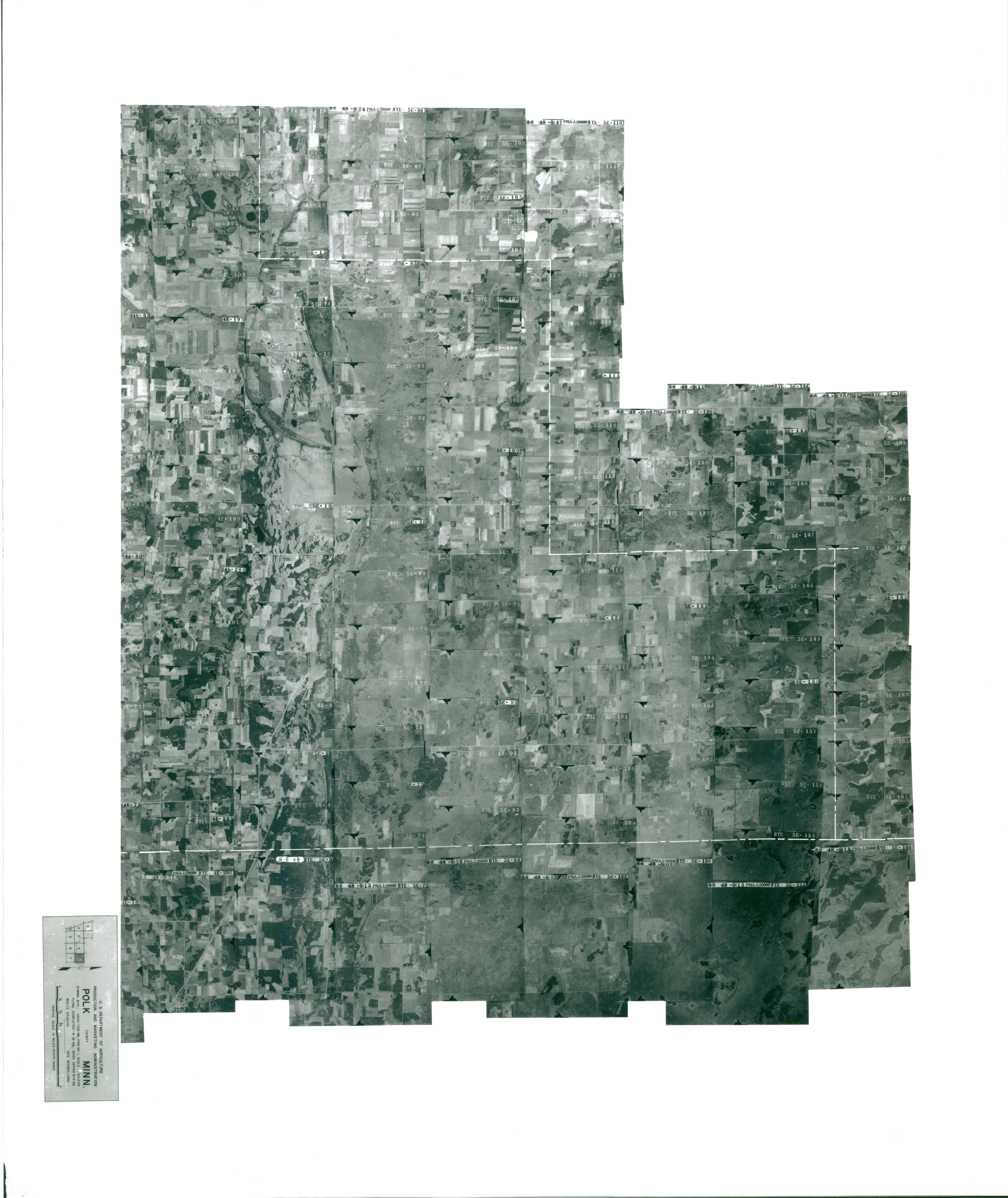 Index to Aerial Photography of Polk County, Minnesota 6