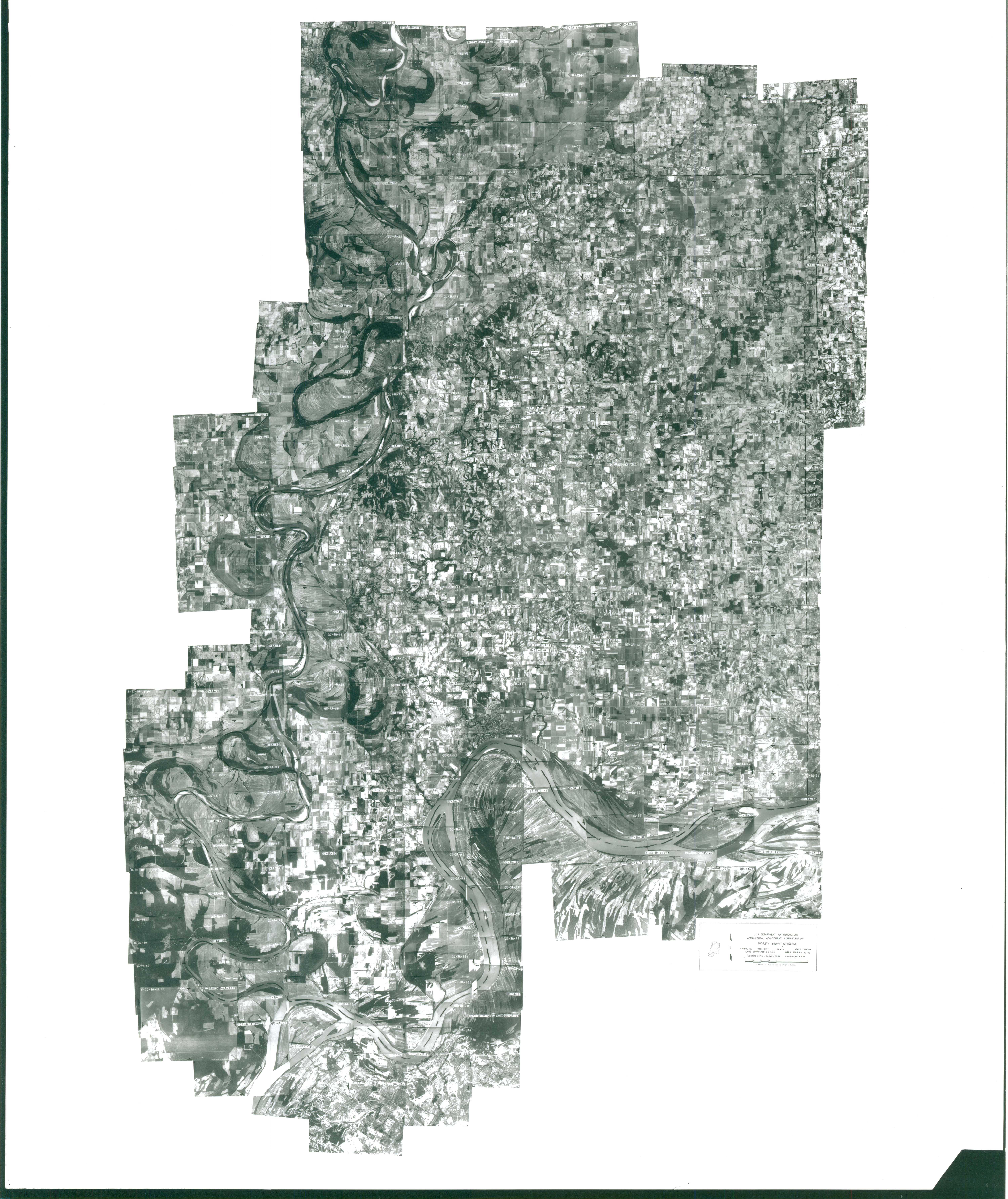 Index to Aerial Photography of Posey County, Indiana 1