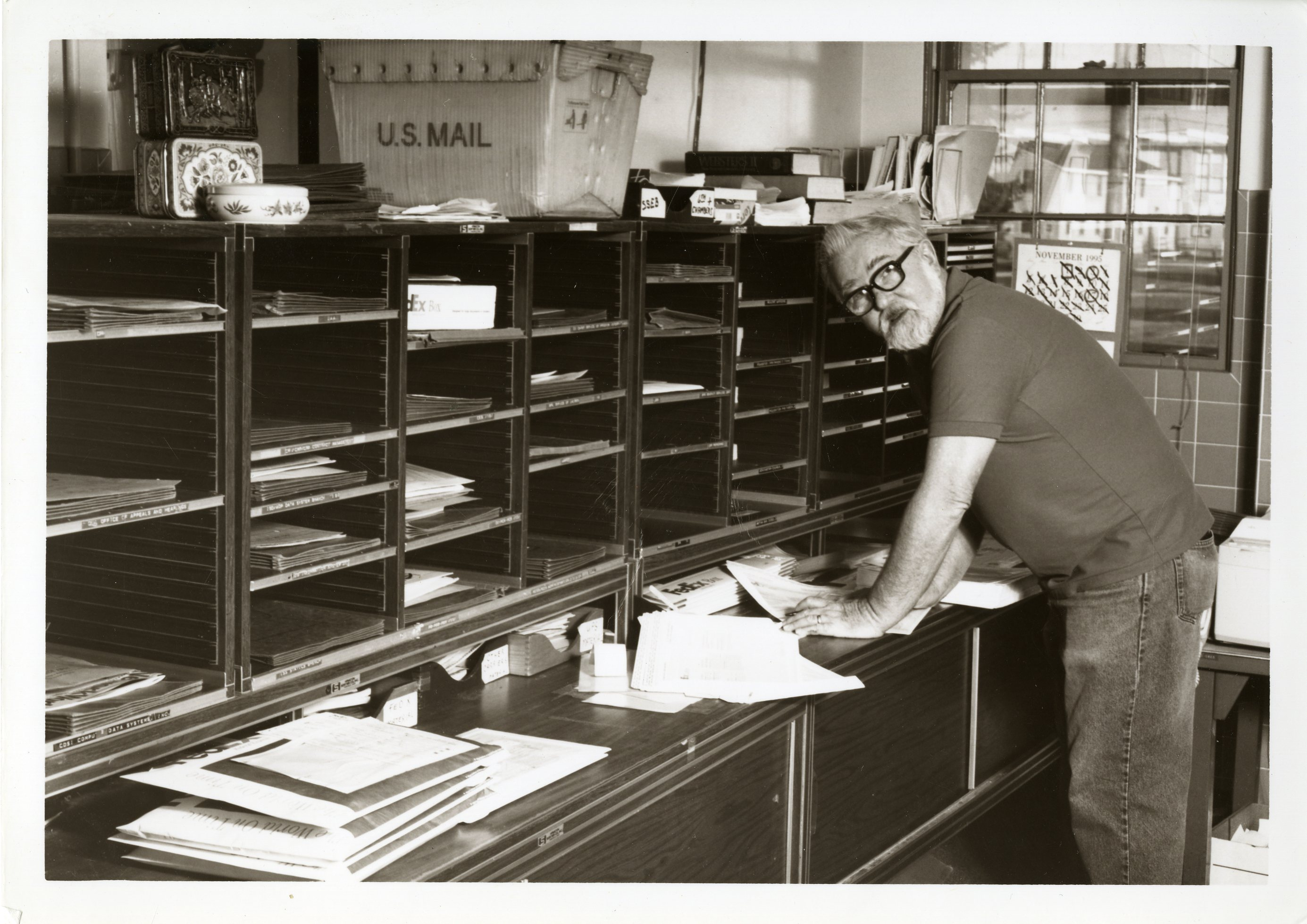 740 Mail Room, Distro Mail