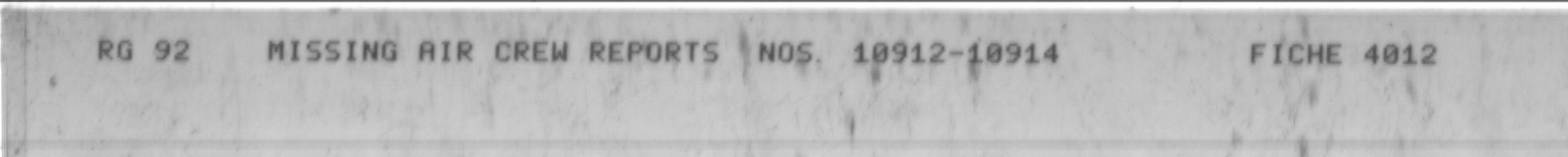 Microfilm target sheet