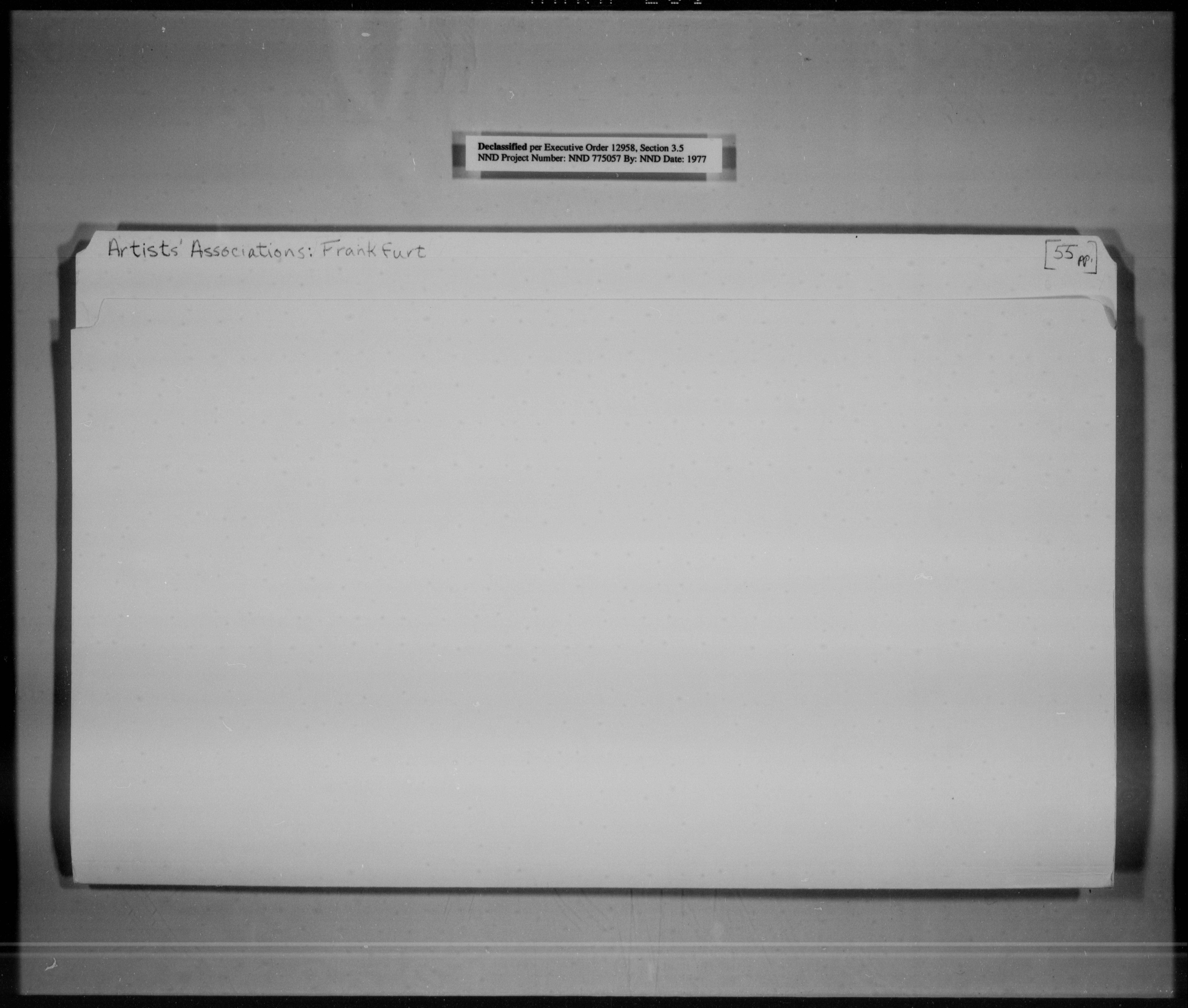 Artists' Associations: Frankfurt