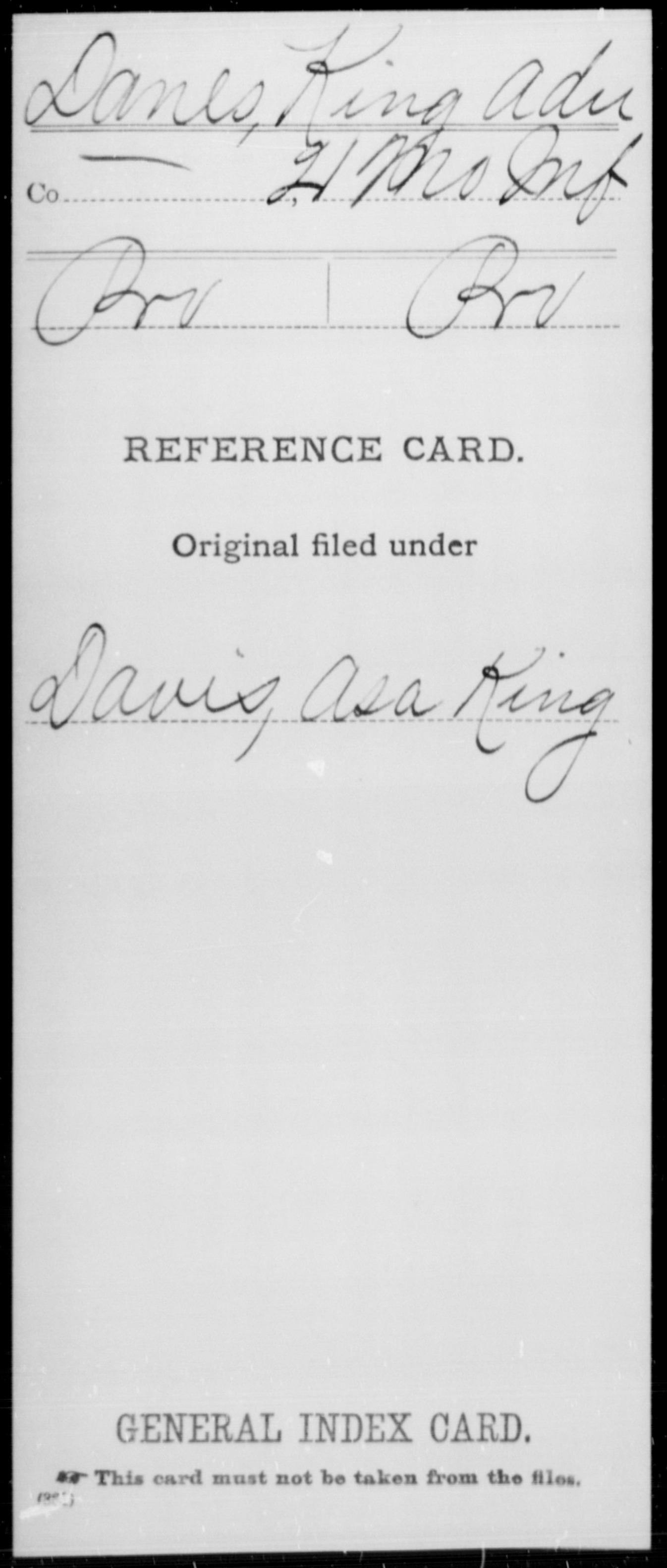 [Missouri] Danes, King Adn - 21st Infantry