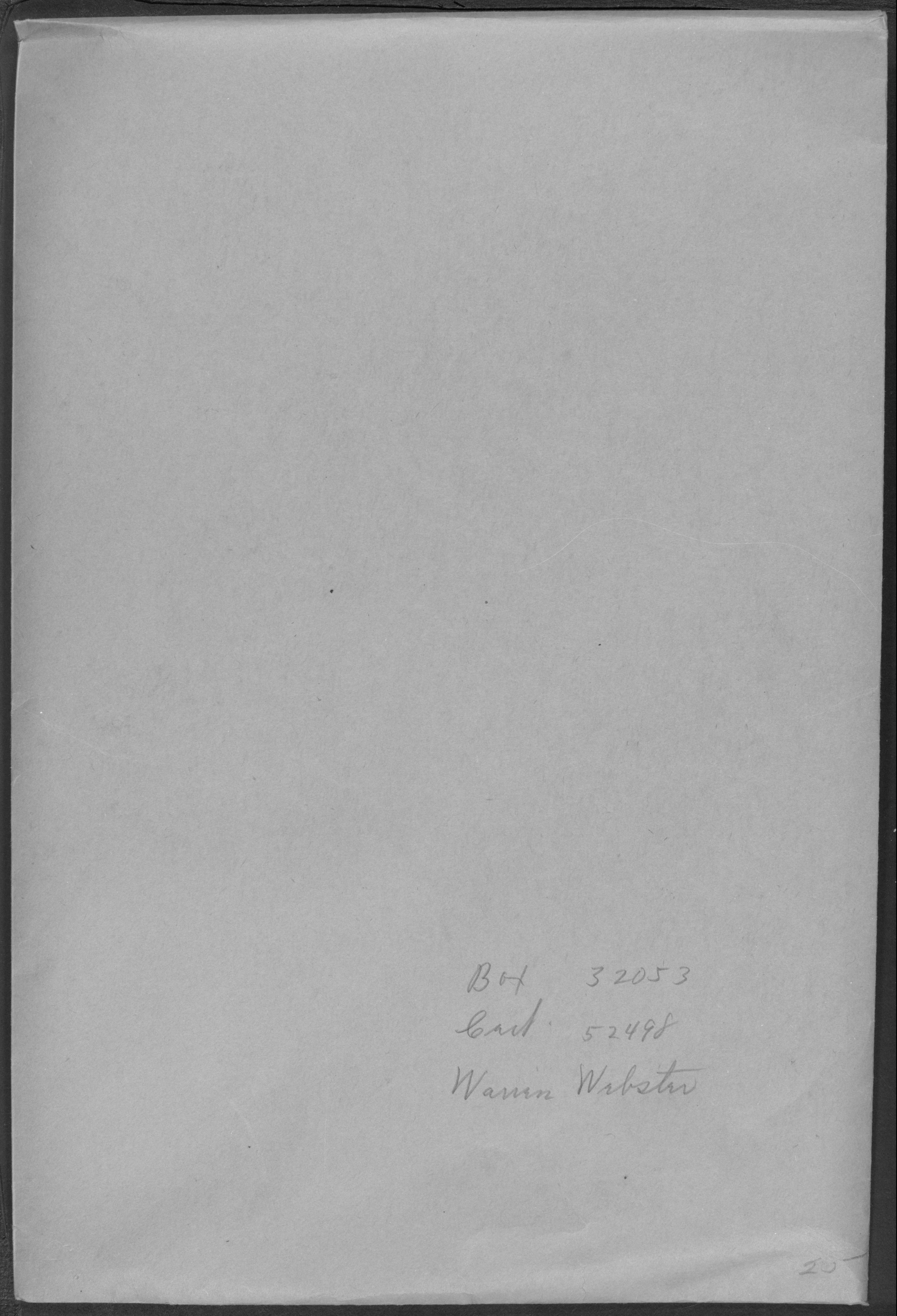 Approved Pension Application File for Robert Webster, Minor Child of Warren Webster, Company I, 21st Massachusetts Infantry Regiment (Application No. WC52498)