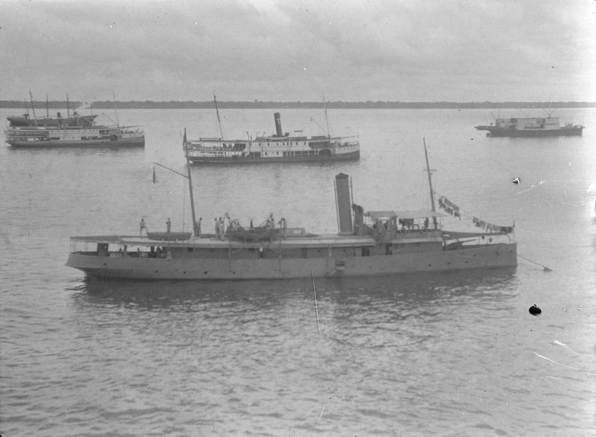 Photograph of Steamboats at Anchor