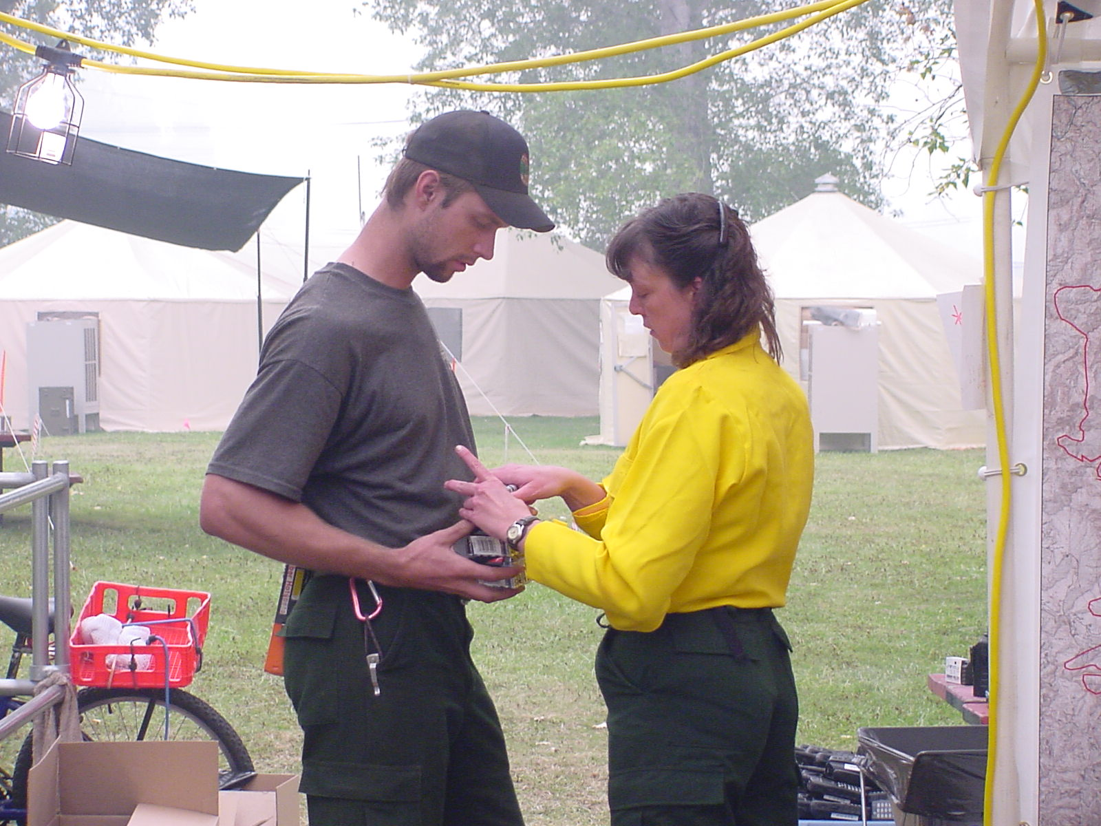 Fire Camp-RadioTent Camp