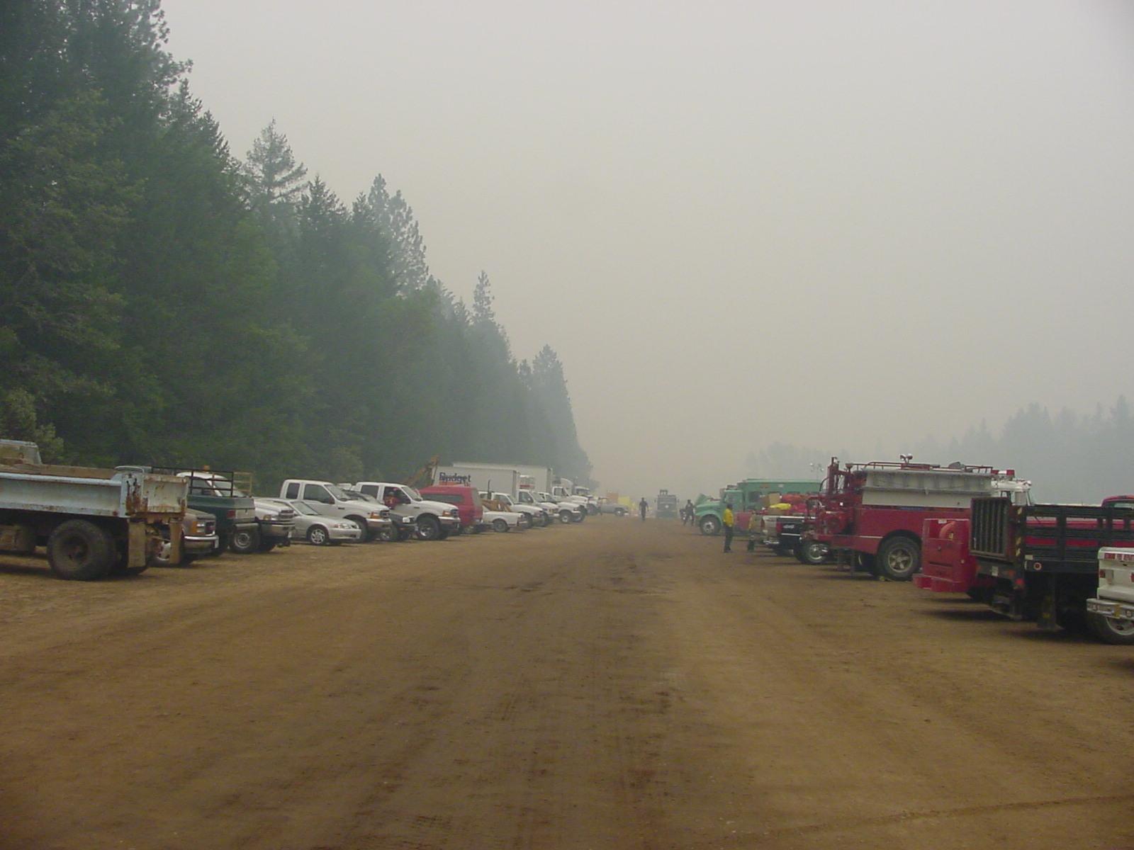 Fire Camp-VehicleArea Camp