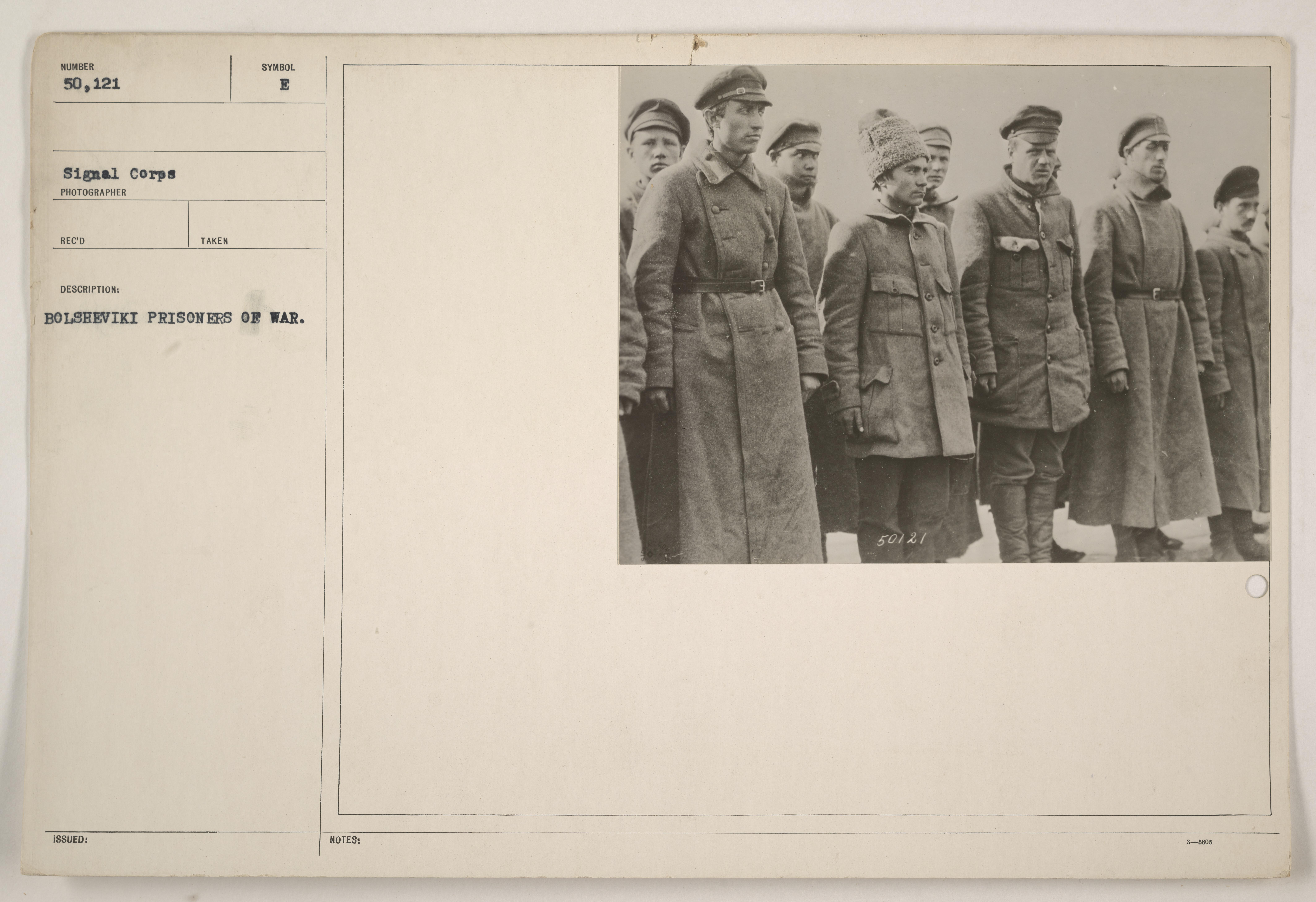 Bolshevik prisoners of war