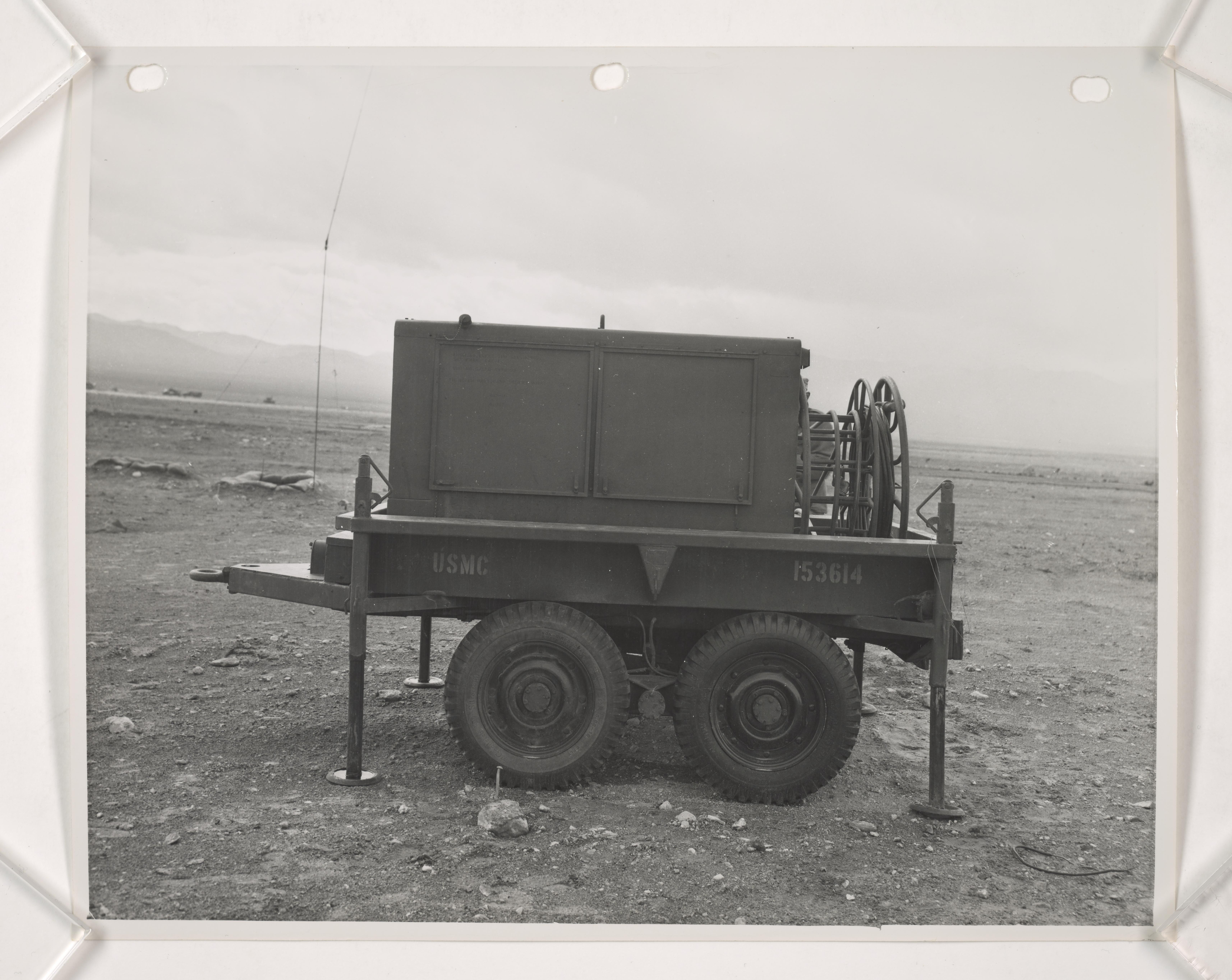 General – Atom Bomb Testing, 1952